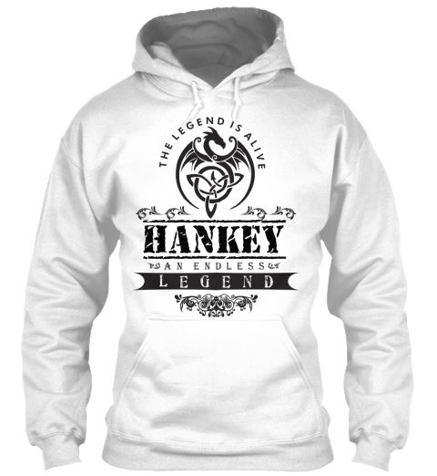 The Legend Is Alive Hankey An Endless Legend White Sweatshirt Front