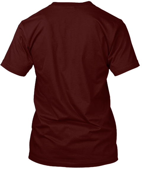 New! Fis Chaplaincy T Shirts Maroon T-Shirt Back