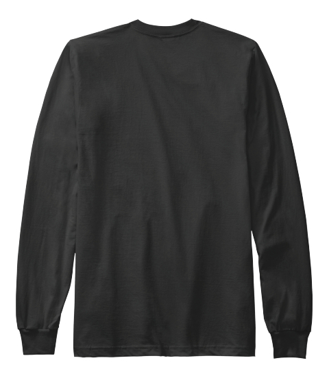 Hope Black Long Sleeve T-Shirt Back