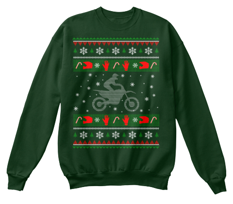 Dirt Bike Christmas Sweater Products from Motocross Shirts | Teespring