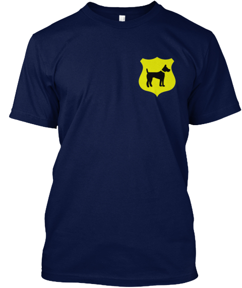 Help Spay Mama Dog And Keep Her Healthy  Navy T-Shirt Front