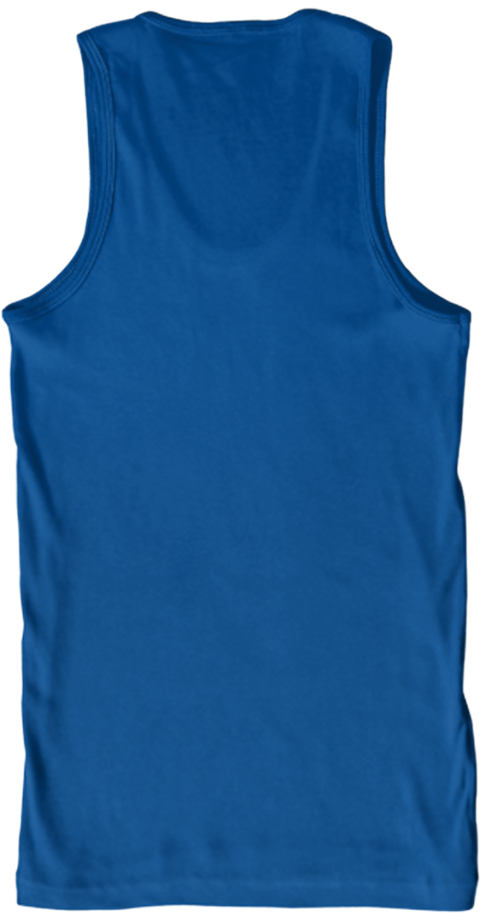 Garage Spinners Royal Tank Top Back