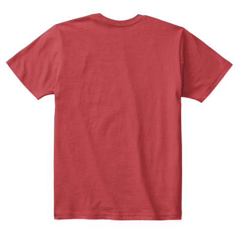 Evolution Of A Martian Kid [Usa] #Sfsf Classic Red T-Shirt Back