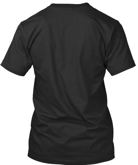 Vegan And Strong   Original T Shirt Black T-Shirt Back
