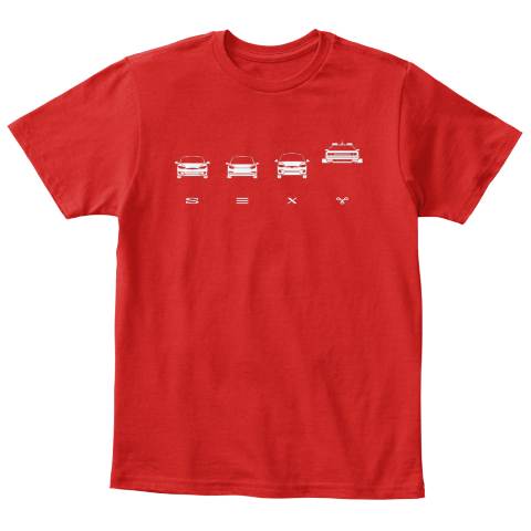 S☰Xy Kid [Int] #Sfsf Red T-Shirt Front