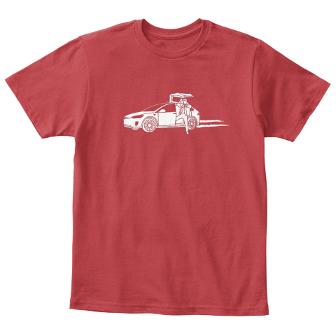 Marty X Kid [Usa] #Sfsf Classic Red T-Shirt Front
