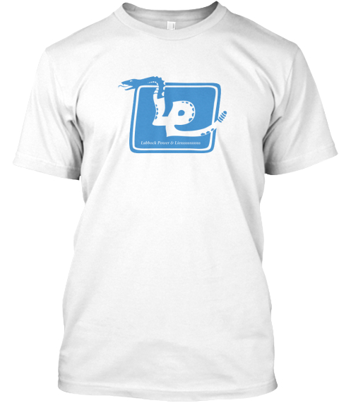 Lp Lies White T-Shirt Front