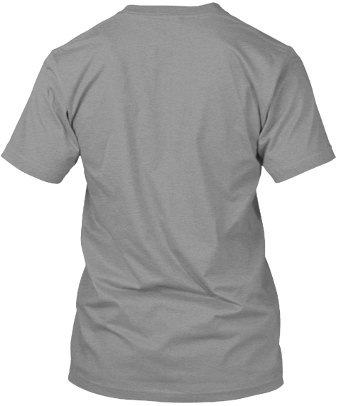 Dudek Modern Goods   Simple Grey Tee Athletic Heather T-Shirt Back