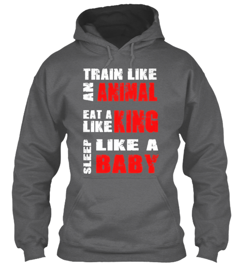 Training 9 Colours iTrain Athletics Unisex Hoodie // Hooded Top Gym