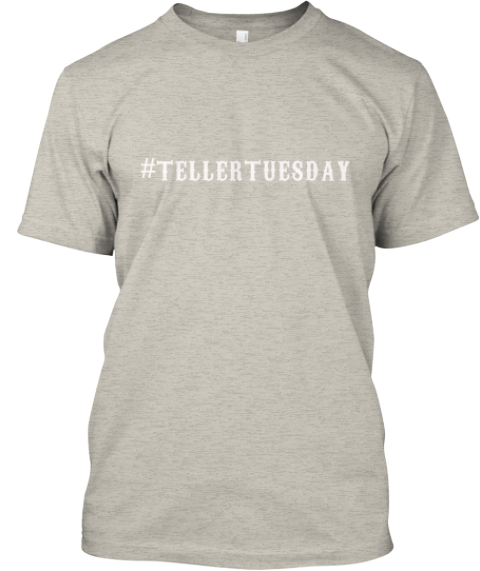 #Teller Tuesday Ash T-Shirt Front