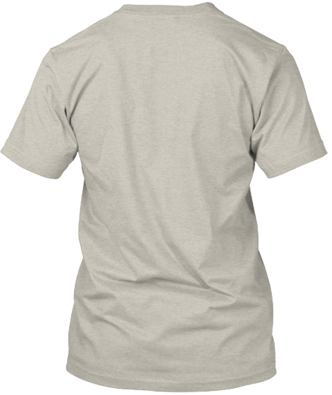 U Shaped Hill Appreciation Ash T-Shirt Back