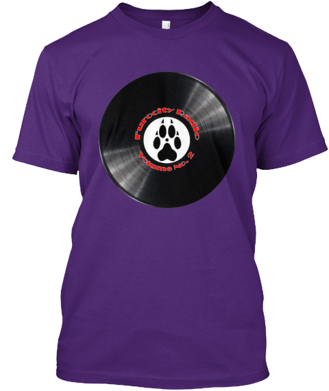Furocity Radio Volume No.2 Purple T-Shirt Front