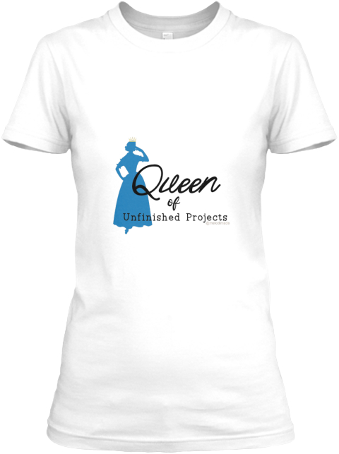 Queen White T-Shirt Front