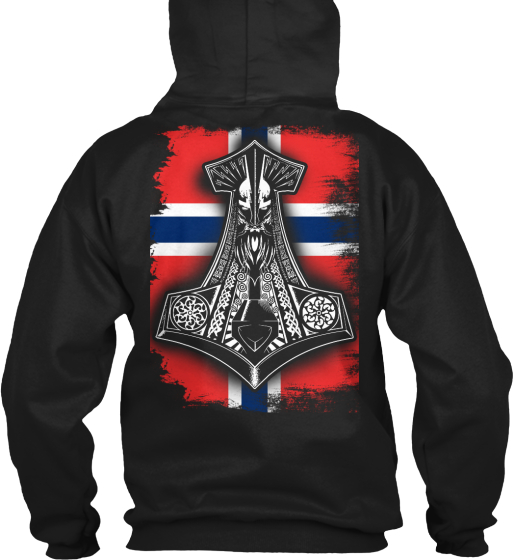 Limited Edition Norwegian Pride Sweatshirt Back