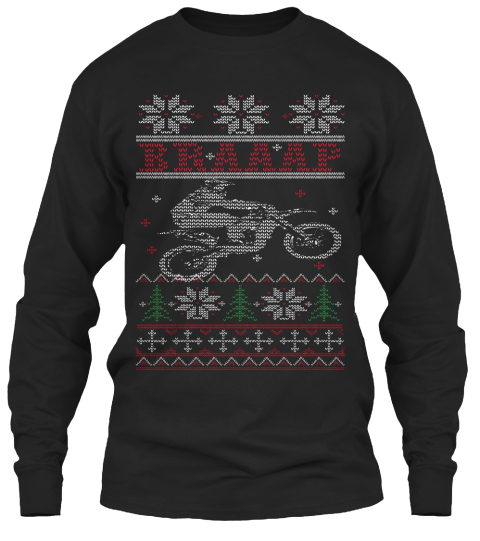 Motocross Braaap Ugly Christmas - BRAAAP Products from Ugly ...