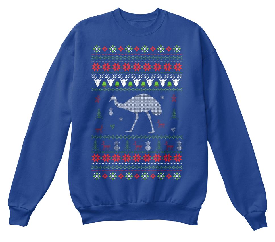 Emu Christmas Swea Standard Unisex Unisex Unisex Sweatshirt 044539