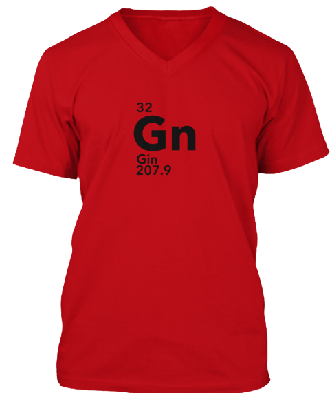 Gin Periodic Table 32 Gn Gin 2079 Products From Dttr T Shirts