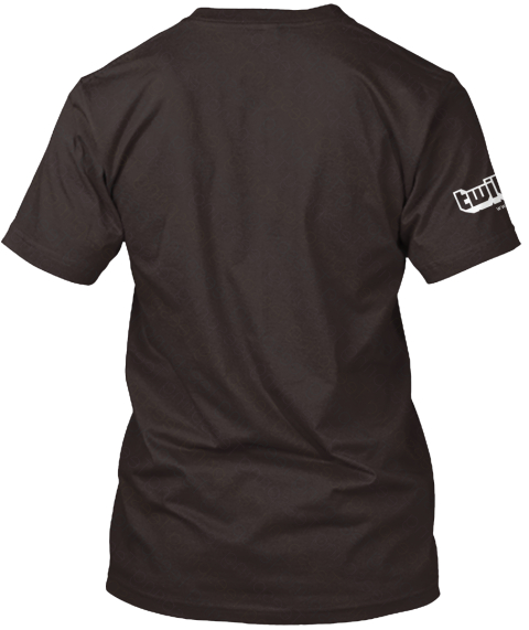 Twi Chocolate T-Shirt Back